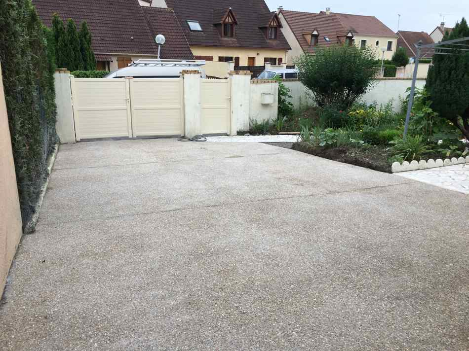 Beton lave exterieur for Exterieur beton