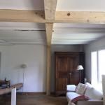 fixation plafond poissy