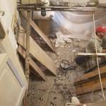 destruction plancher