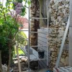 reconstruction en parpaing poissy