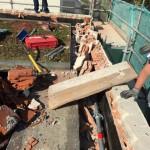 demolition acrotere meudon 92