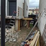 démolition escalier colombes