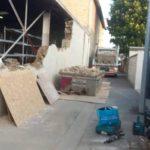 demolition mur en pierre