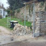 refection poteau en pierre